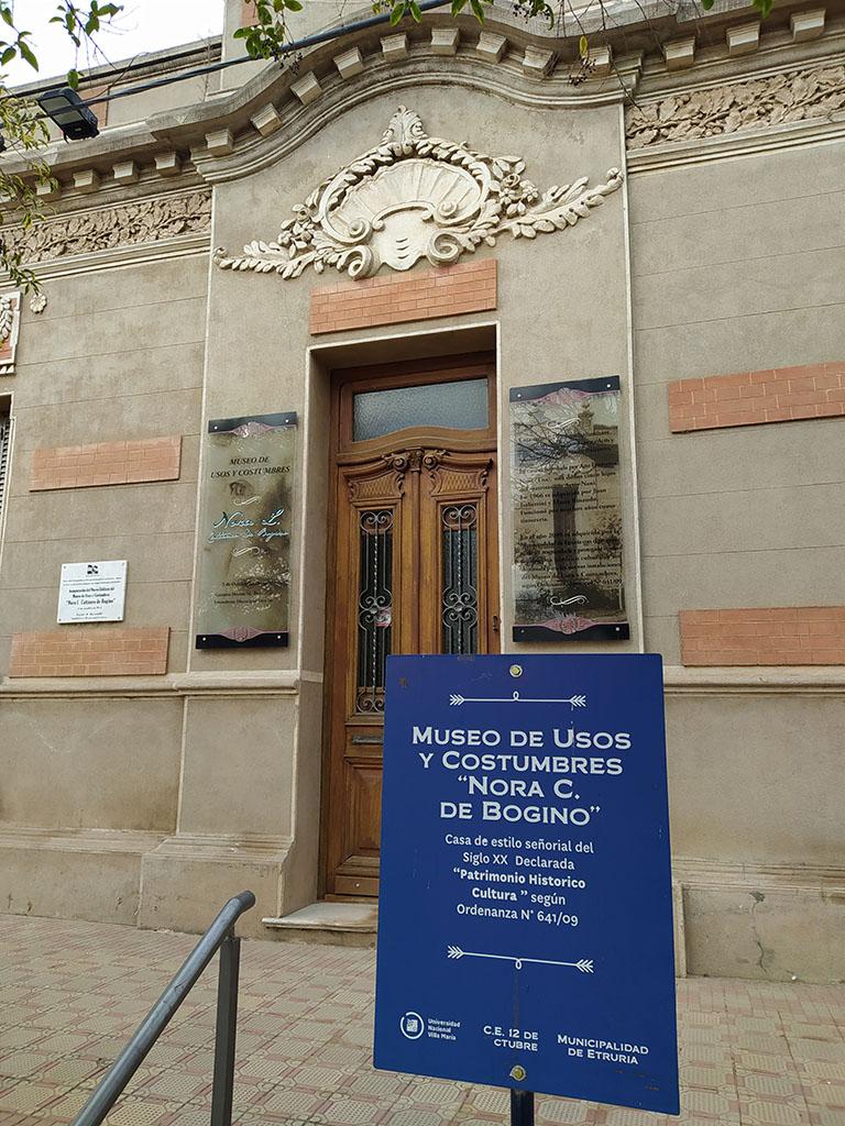 """Museo de Usos y Costumbres """"Nora Luisa Cattáneo de Bogino"""""""