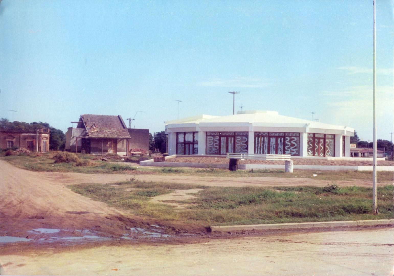 Casa de Ricciardi y construcción de la nueva terminal de ómnibus